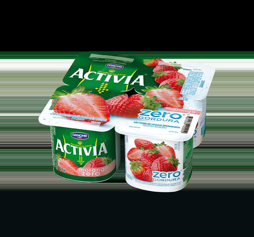 Activia-Morango-zero