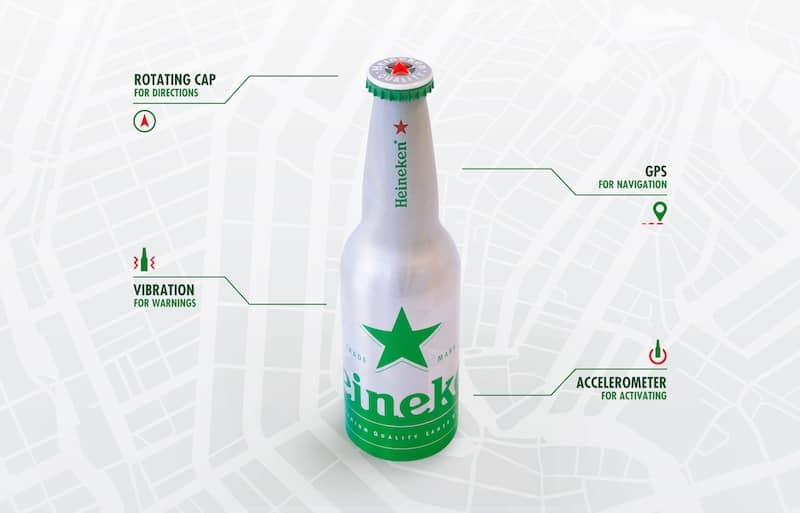 Heineken-gps-bottle