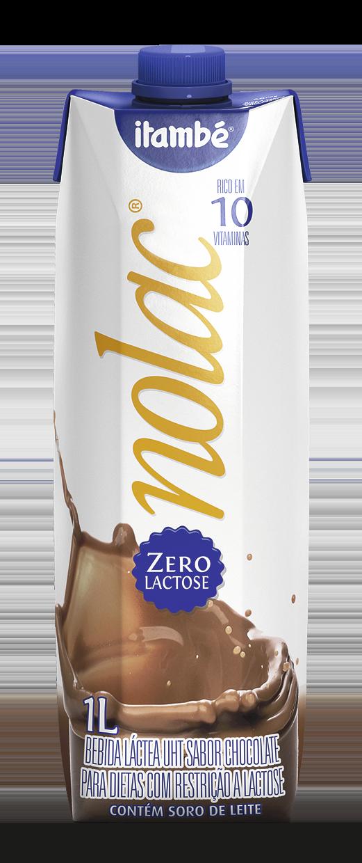 Leite  Flavorizado sabor chocolate UHT NoLac  1 L