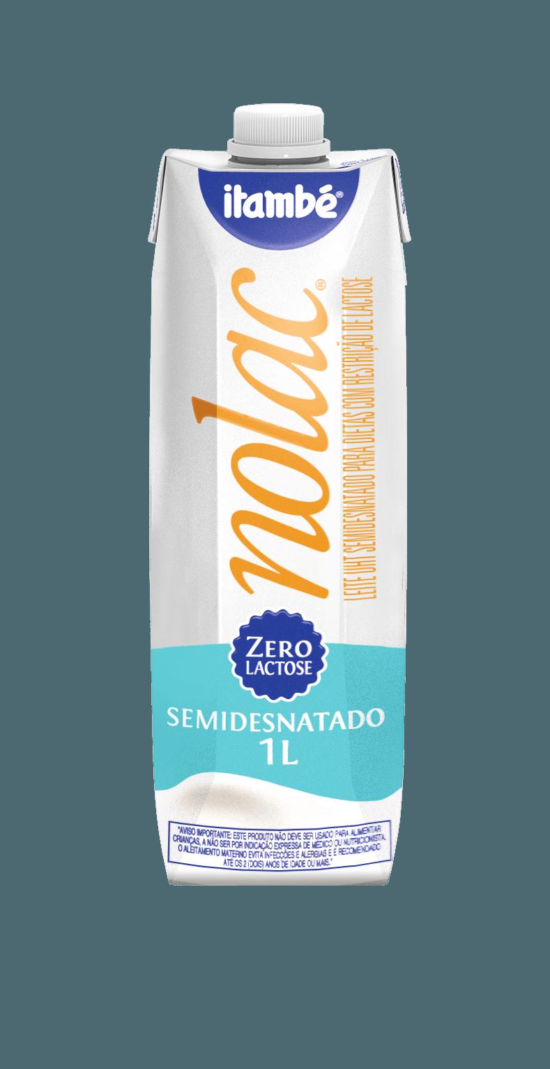 Leite Premium UHT NoLac (semidesnatado)1L