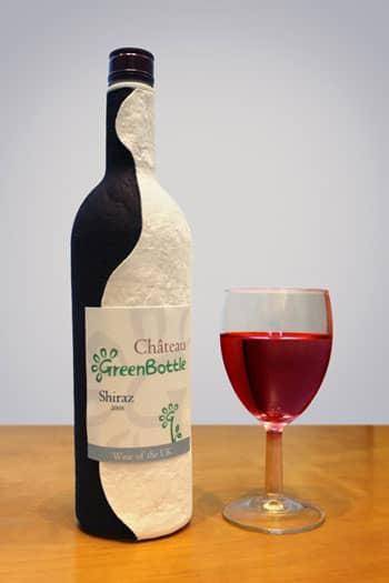 WineGreenBottleandGlass1