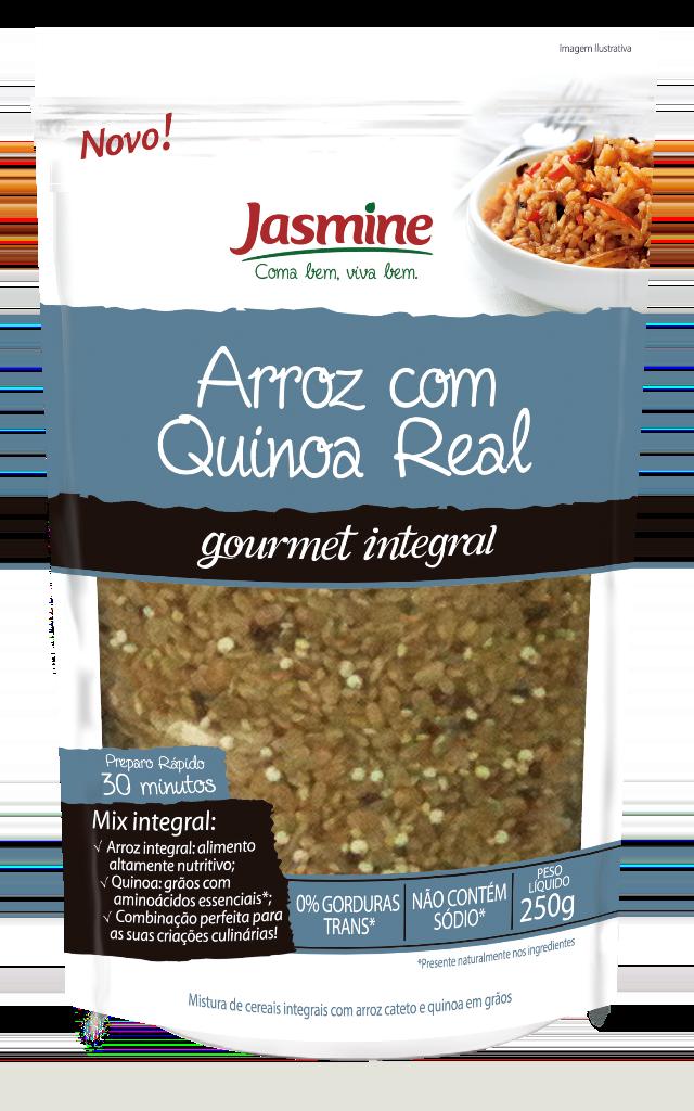 cereais gourmet arroz com quinoa