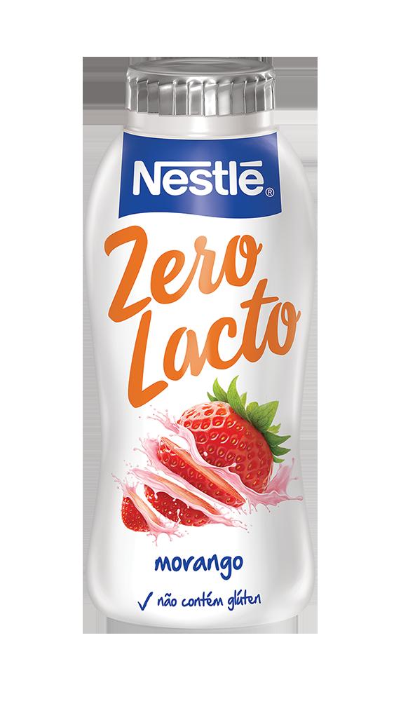 zero lacto 170ml morango BX