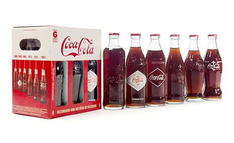 Coca-Cola Edições Históricas  Design: Tátil Design  Convertedor: Owens-Illinois / Ibratec Artes Gráficas  Brand owner: Coca-Cola Brasil