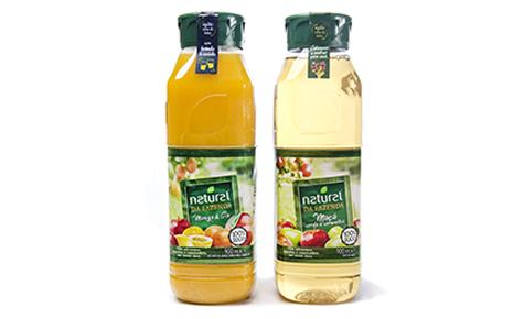 Garrafa de 900ml Natural da Fazenda  Convertedor: Amcor Plásticos Rígidos  Brand owner: Natural One