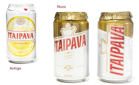 Cerveja Itaipava  Design: FutureBrand  Convertedor: Ball Corporation / Crown  Brand owner: Grupo Petrópolis