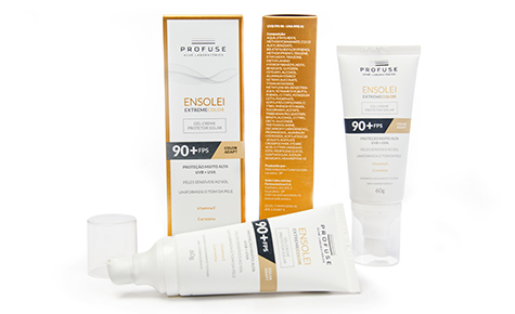 Família Profuse Ensolei – Dourado Solar Design: Cheeeese Convertedor: Box Print / C-Pack Brand owner: Aché Laboratórios Farmacêuticos