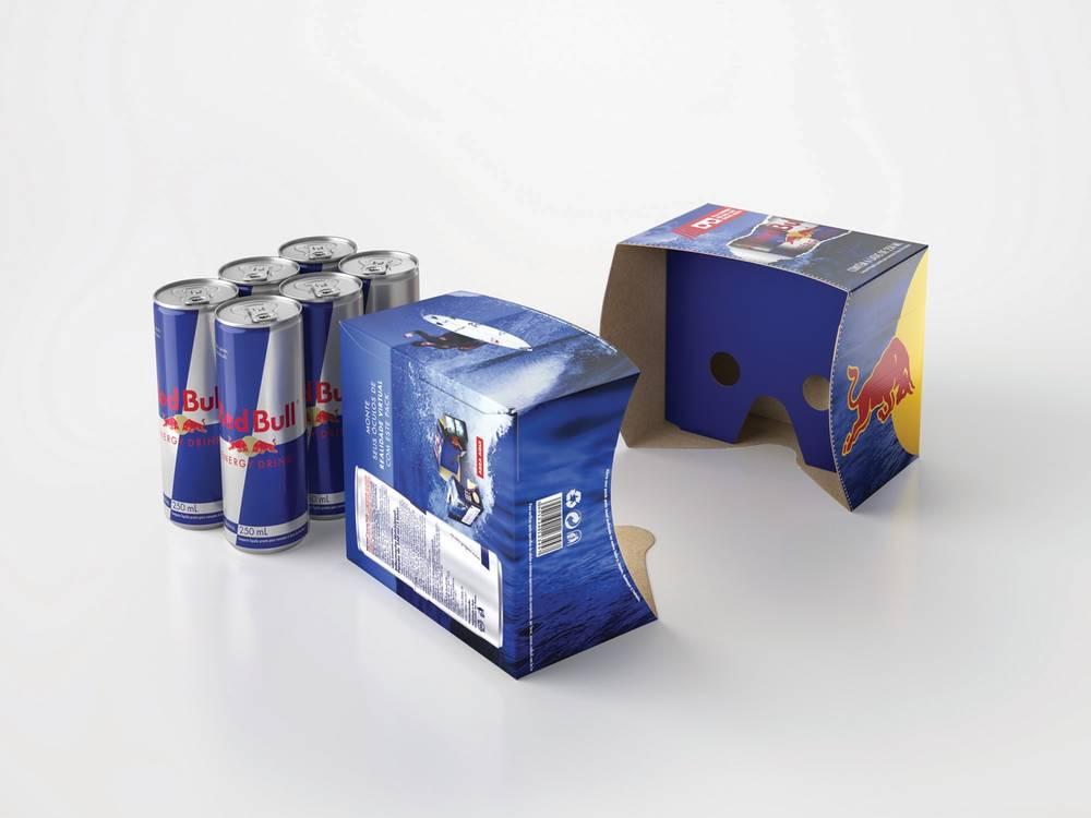 Embalagem de Red Bull vira óculos de realidade virtual cb7260bea7a