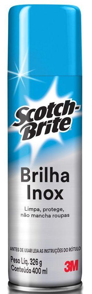 Scotch-Brite Brilha Inox ganha embalagem compacta   EmbalagemMarca