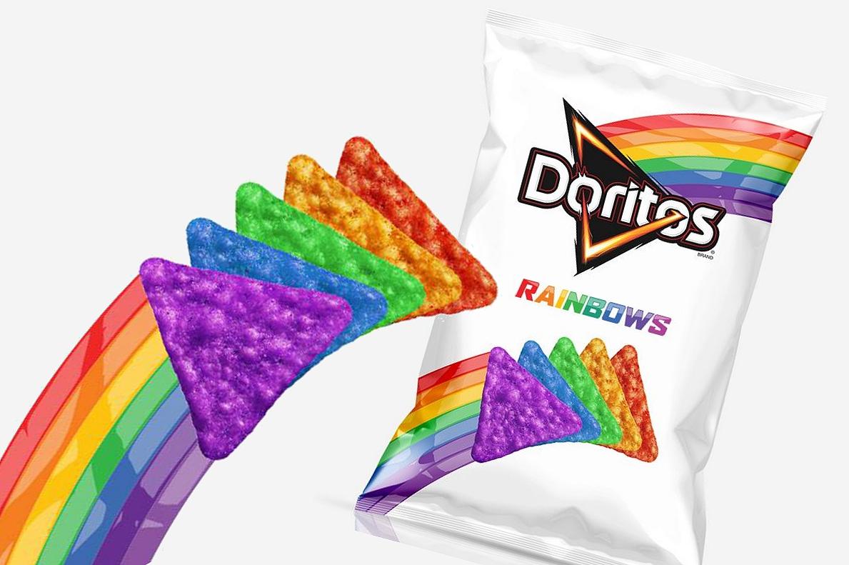 Doritos Rainbows tem embalagem colorida para apoiar causa ...