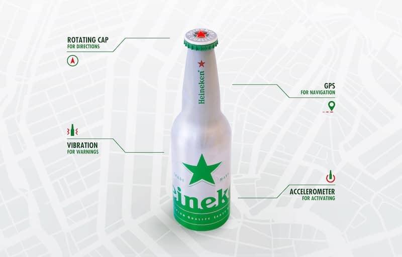 Heineken-gps-bottle