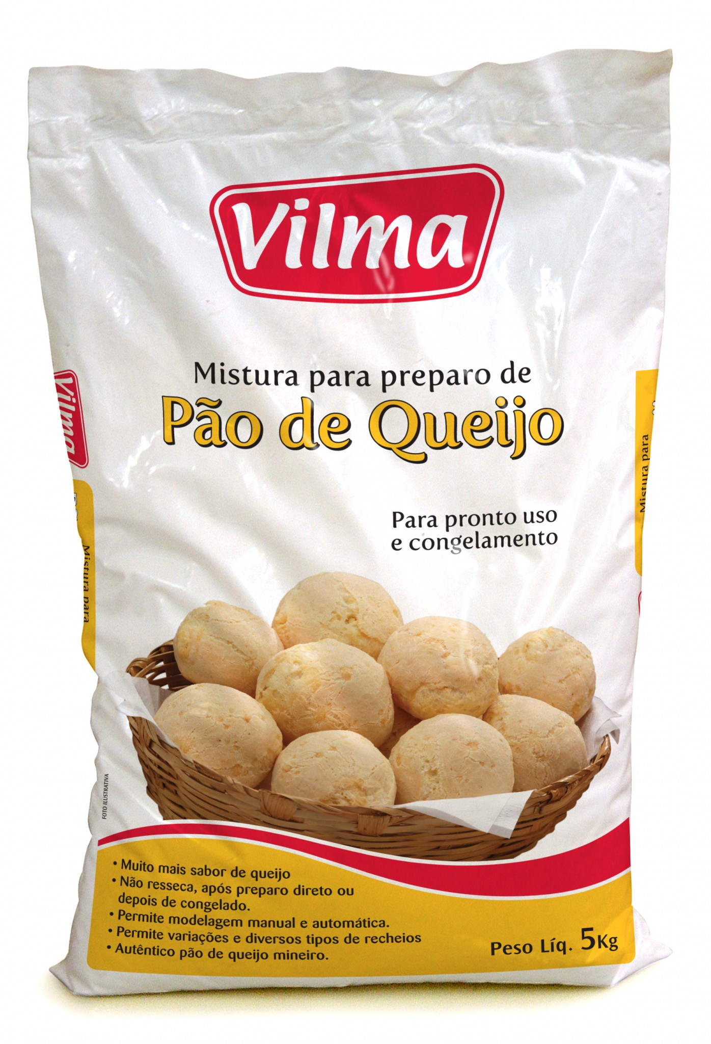 Pao de Queijo 5kg Vilma