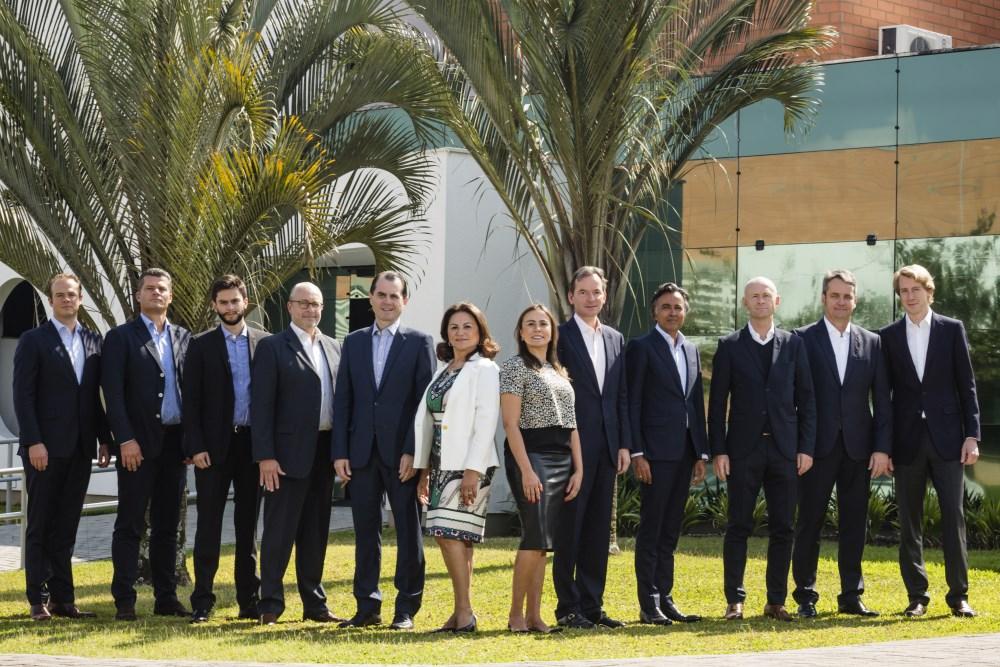 Integrantes do conselho do novo grupo gráfico