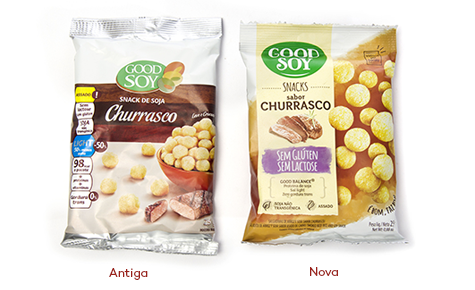 GoodSoy  Design: Matriz Desenho  Convertedor: Emflex Embalagens Flexíveis  Brand owner: NHD Foods