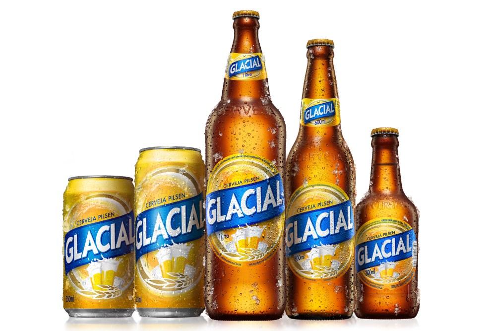 Cerveja Glacial adota nova identidade visual   EmbalagemMarca