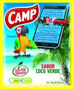 Camp- Sabor Coco Verde