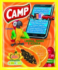 Camp- Sabor Mix Laranja Mamão e Acerola