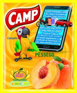 Camp- Sabor Pêssego