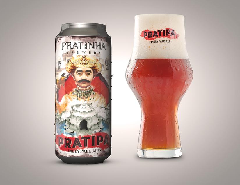 Cerveja em lata Pratipa