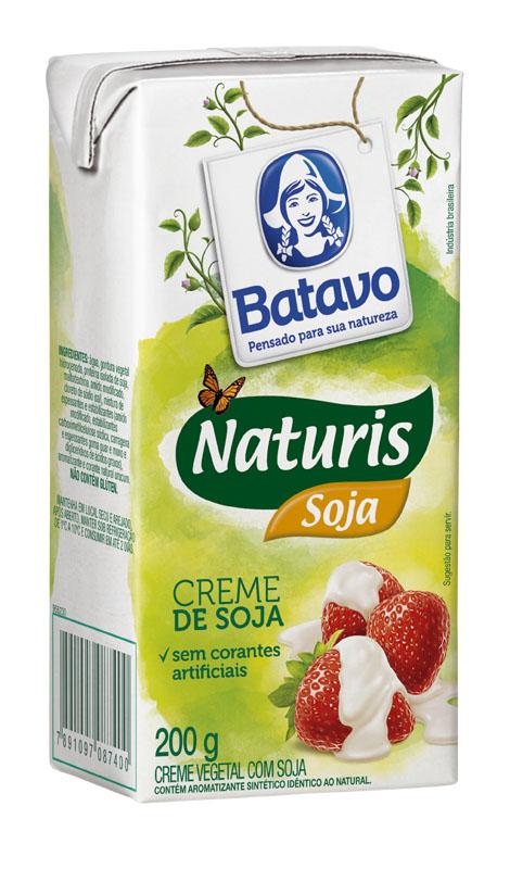 Naturis Creme de Soja Tetra 200g
