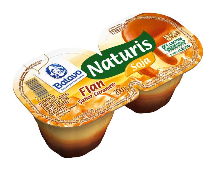 Naturis Soja Flan Caramelo 200g