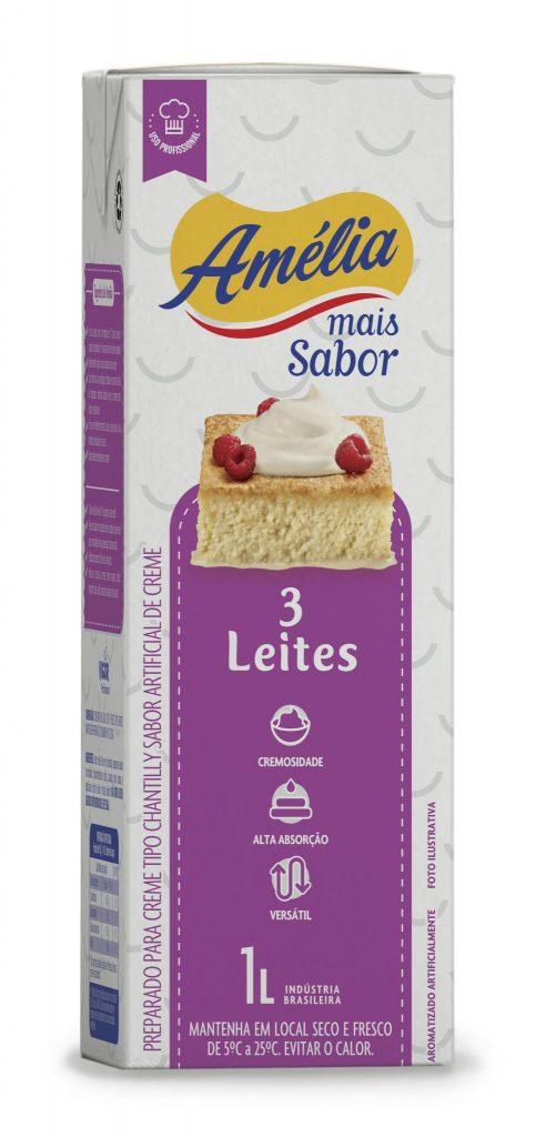 036 AMELIA 3 leites EMBALAGEM 1L SQUARE
