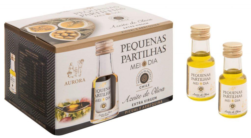 Azeite de Oliva Pequenas Partilhas - Chile - 12x15ml