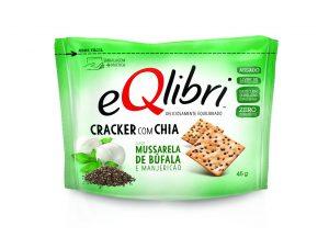 CRACKER MUSSARELA DE BUFALA EQLIBRI 45G