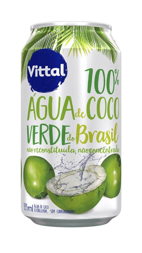 Água de Coco Vittal Lata