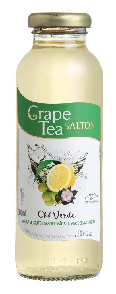 Ch+í Verde com Uva Moscato e Sabor de Lim+úo Siciliano e Erva Cidreira
