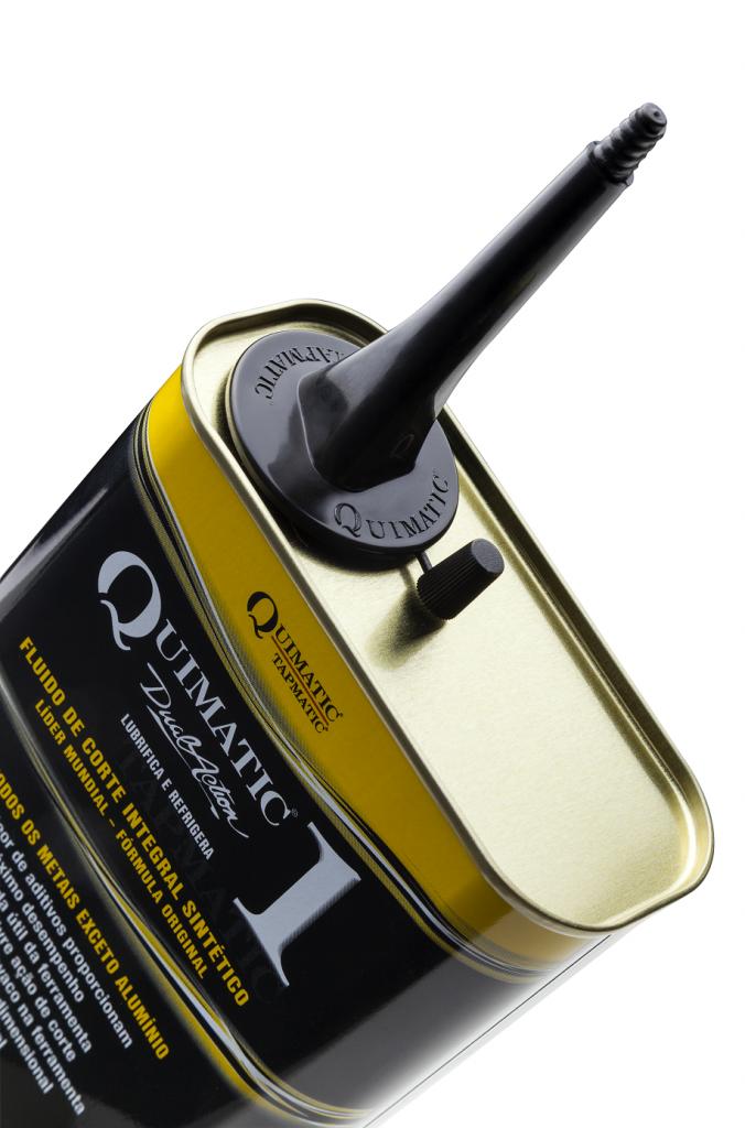 Fluido de Corte Quimatic 1 nova embalagem Detalhe Bico SET2017