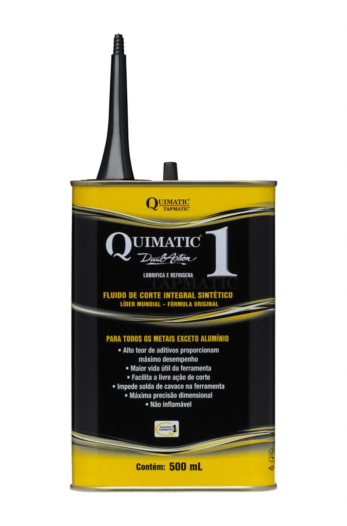 Fluido de Corte Quimatic 1 nova embalagem SET2017