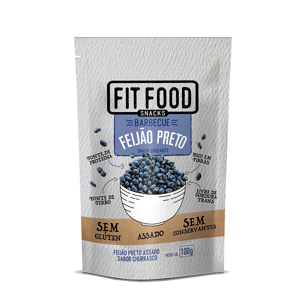 latinex_FIT FOOD_ FF32_Snack Feijão Preo Barbecue_100g