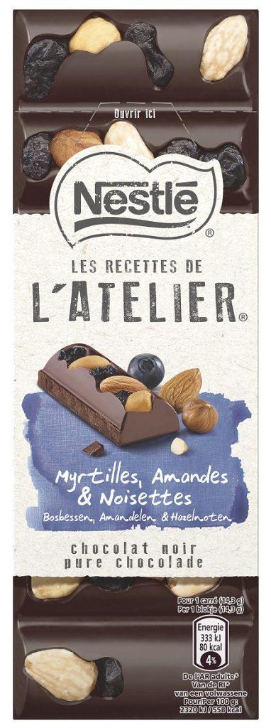 Nestle LRDA Dark Blueberries Almonds Hazelnuts 100g