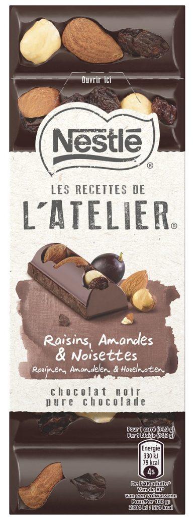 Nestle LRDA Dark Raisins Almonds Hazelnuts 100g