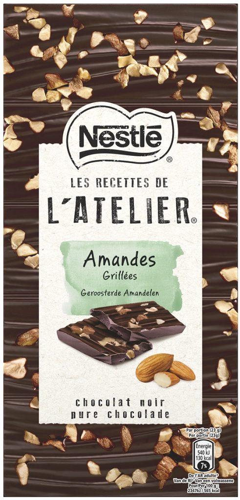 Nestle LRDA Dark Roasted Almonds 115g