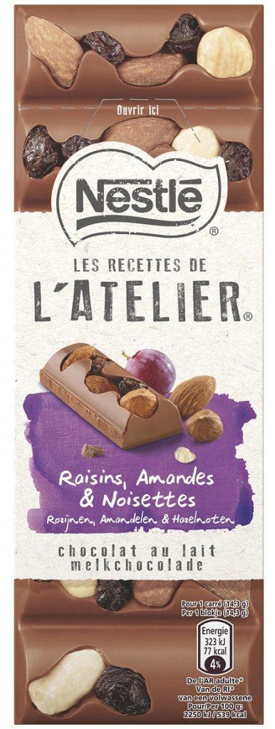 Nestle LRDA Milk Raisins Almonds Hazelnuts 100g