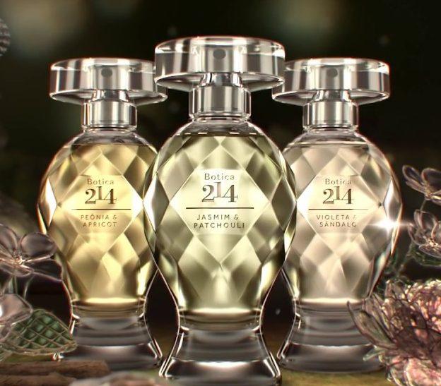 Perfume novo boticario