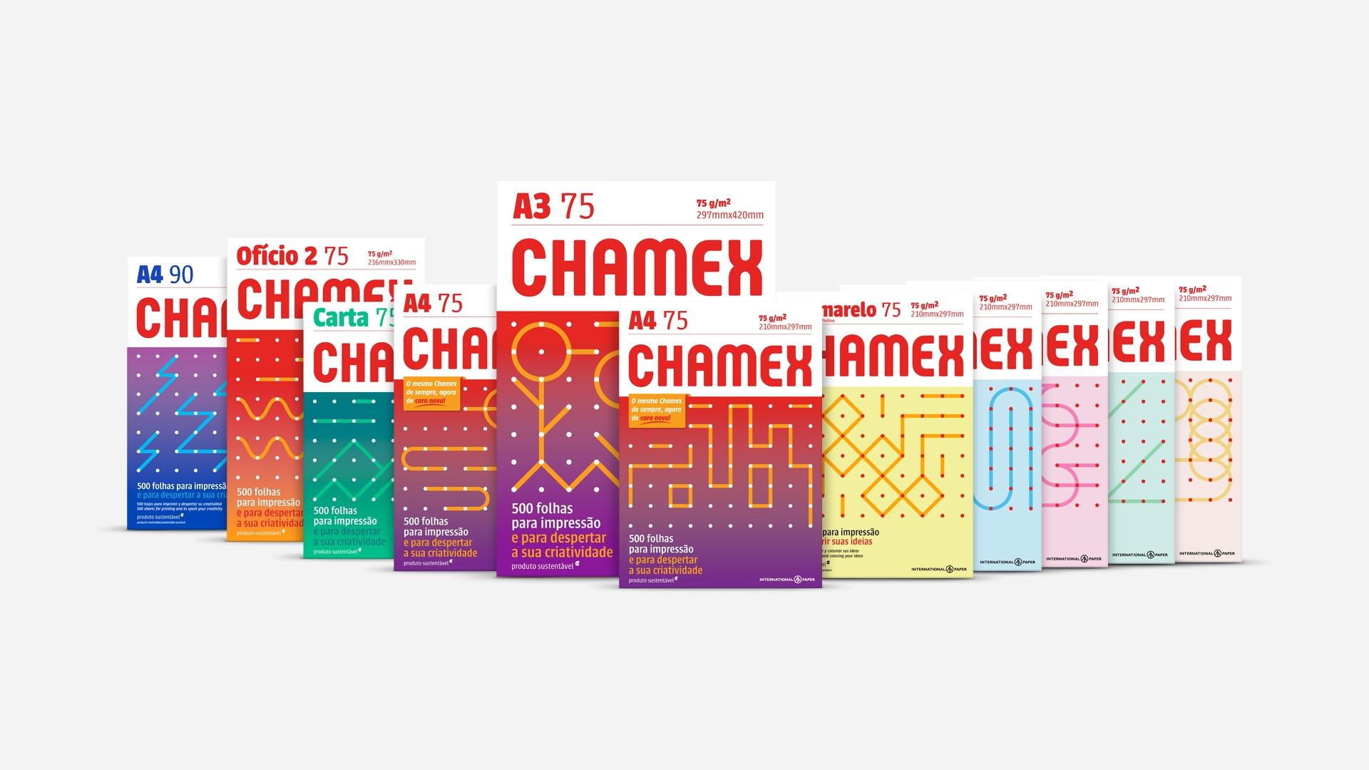 Chamex Adota Nova Identidade Visual Embalagemmarca