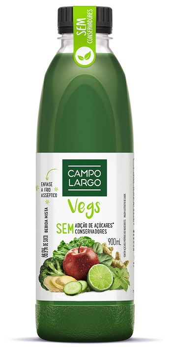 Campo Largo - Suco Vegs - 900ml