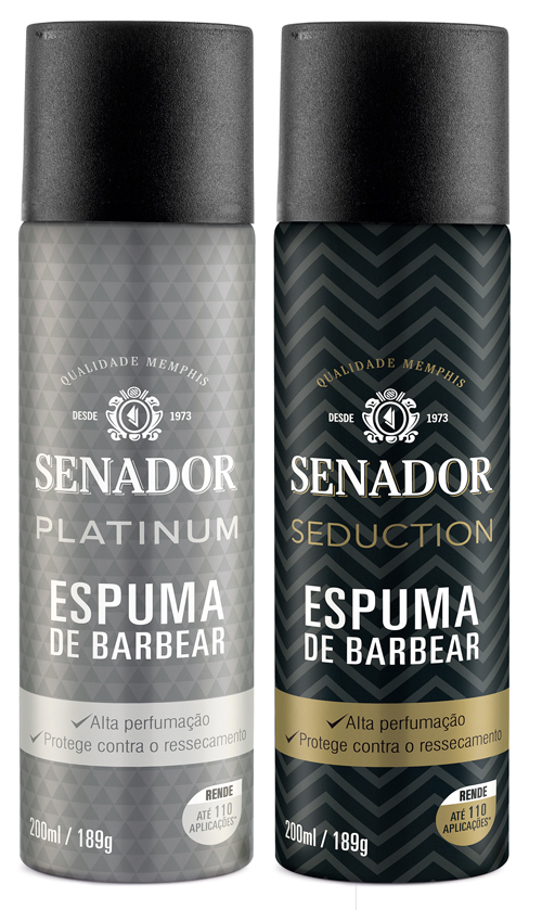 Espumas de Barbear Senador
