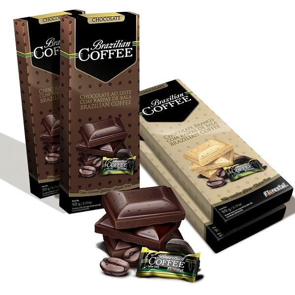 Brazilian Coffee Tabletes Apresentação