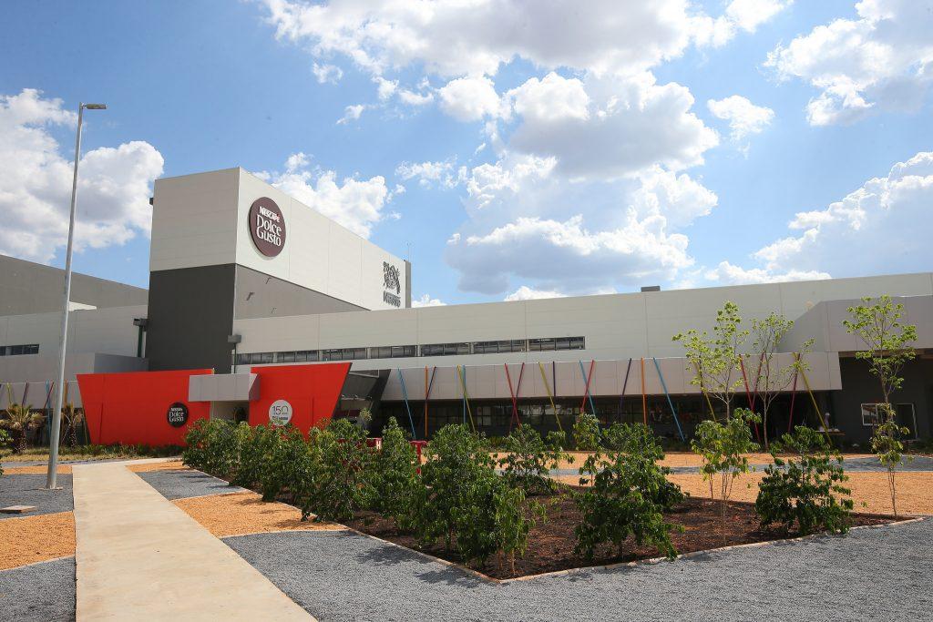 Fábrica de cápsulas de Nescafé Dolce Gusto, em Montes Claros (MG)