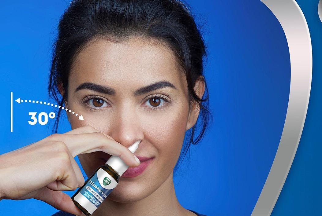 P&G lança Vick em spray nasal que promete inativar vírus do resfriado
